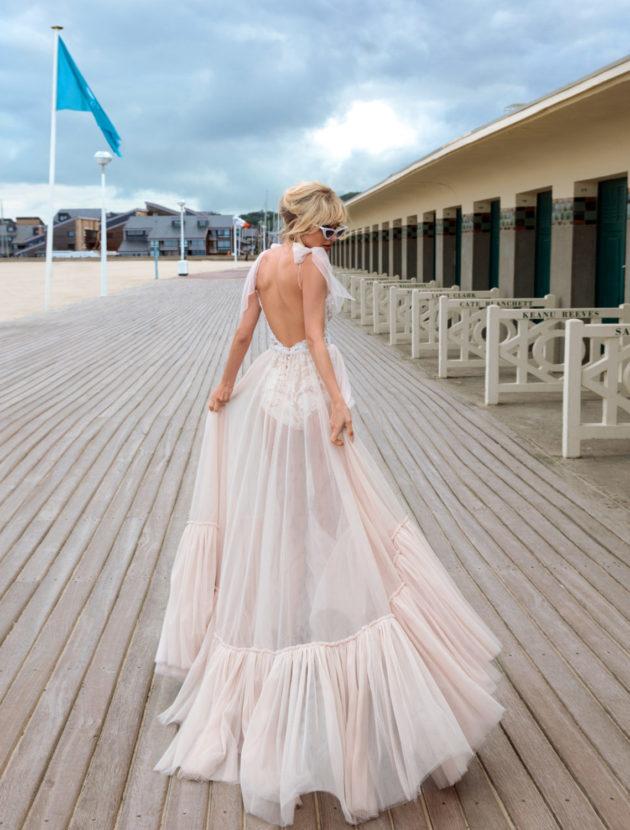 Sexy trouwjurk van het merk Anna Sposa, bibi. Jurk is nieuw.
