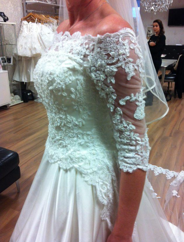 Prachtige trouwjurk