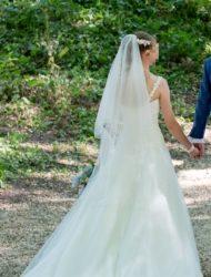 Prachtige LADYBIRD trouwjurk (maat 36)