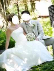 Trouwjurk Martina van Maggie Sottero evt. voor zwangere bruid