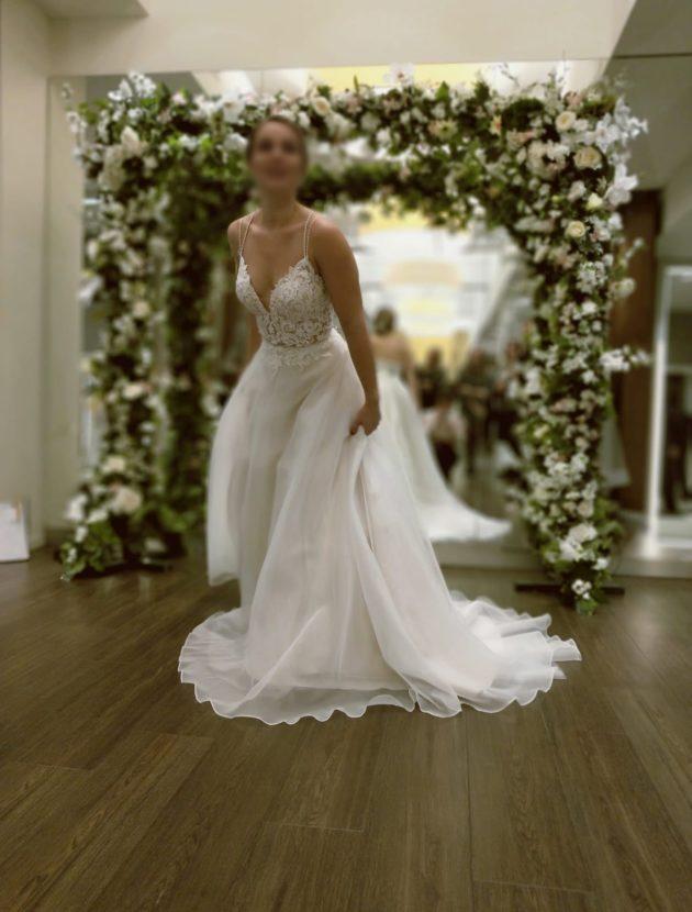 Prachtige nieuwe trouwjurk