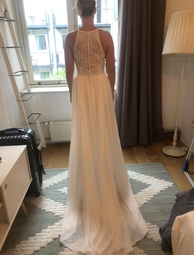 Nieuwe trouwjurk – Bohemian – Maat 40