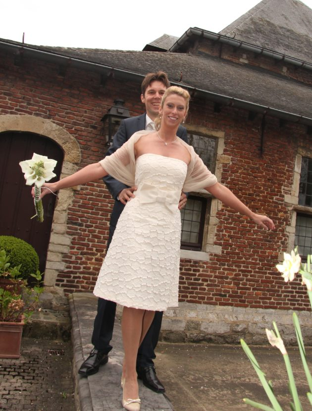 Zeer bijzondere jurk Max Mara in perfecte staat