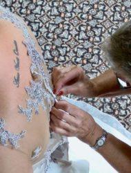 Mooie ladybird jurk met open rug