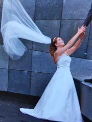 Trouwjurk Stella Bianca Couture maat 38 / M