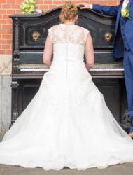 Trouwjurk ivoorkleurig Fairytales Ball-gown/A-lijn in maat 42/44