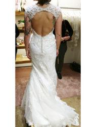Lange trouwjurk met kant, Justin Alexander. Nieuw!