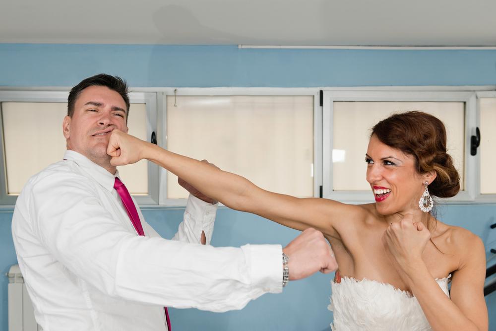 bruiloft gaat niet door
