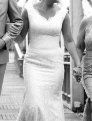 Prachtig en lekkerzittende jurk van San Patrick maat 38/40