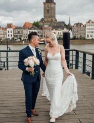 Prachtige trouwjurk Kamryn Blue by Enzoani