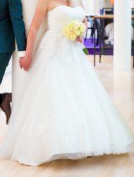 Strapless trouwjurk van Ladybird