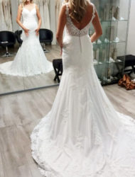 Nieuwe trouwjurk, Stella York 6677 Fit & Flare