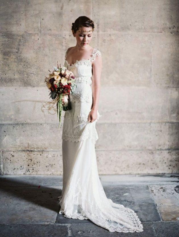 Bohemian trouwjurk Claire Pettibone