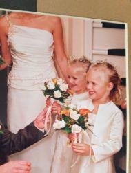 Mooie tijdloze Fit & Flare trouwjurk van Rembo Styling