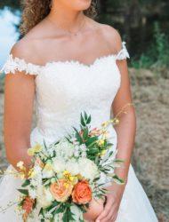 Pronovias, Aire Barcelona trouwjurk maat 36