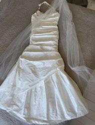 Schitterende trouwjapon