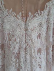 Vintage / Bohemian trouwjurk