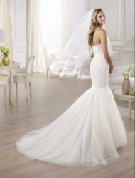 Pronovias mermaid trouwjurk