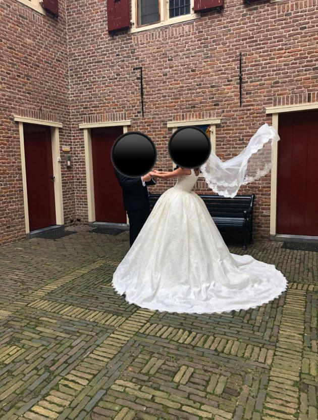 Prinses model Trouwjurk