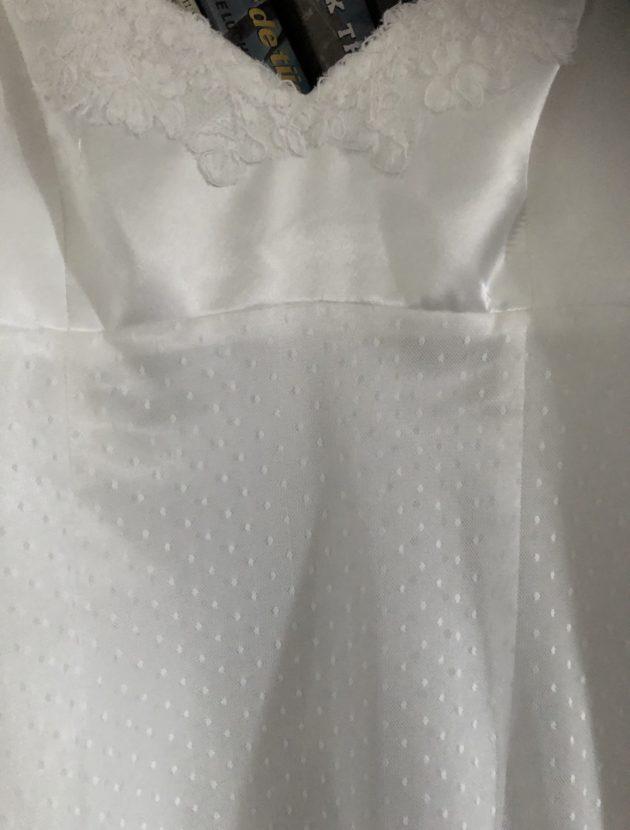 Verfijnd en vrouwelijke Cymbeline trouwjurk