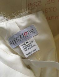 Zeer nette gestoomde trouwjurk Affezione mt 34/36 princessen/feestjurk