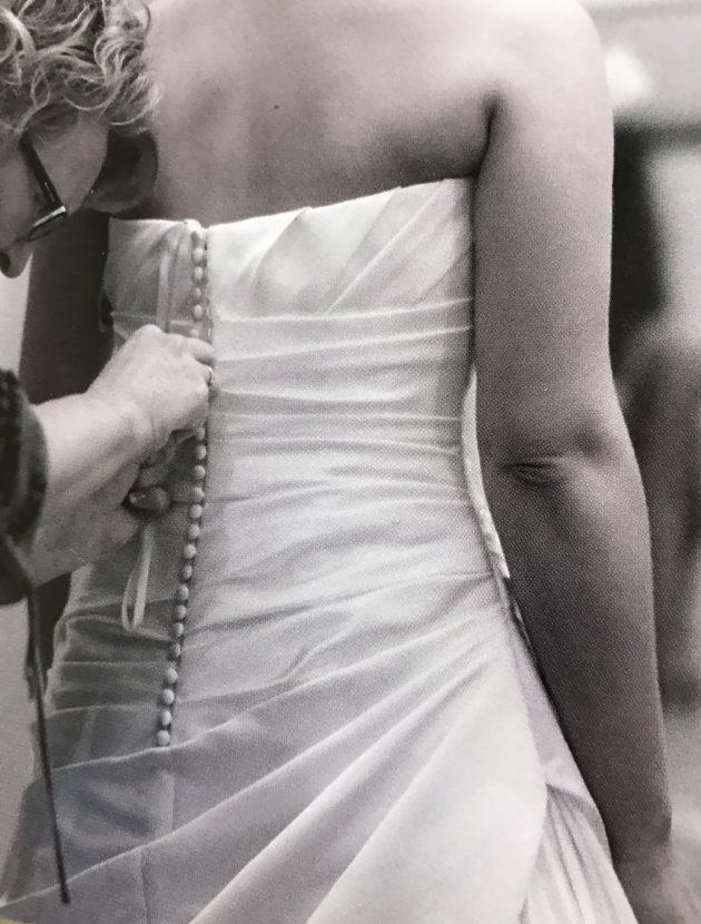 Prachtige jurk van W1 White one by Pronovias