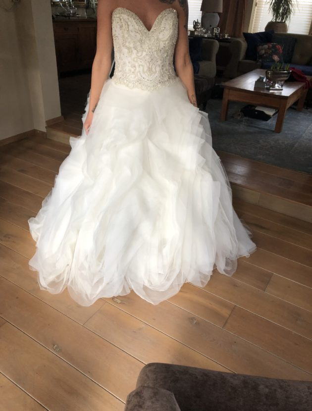 Trouwjurk ball gown (new)