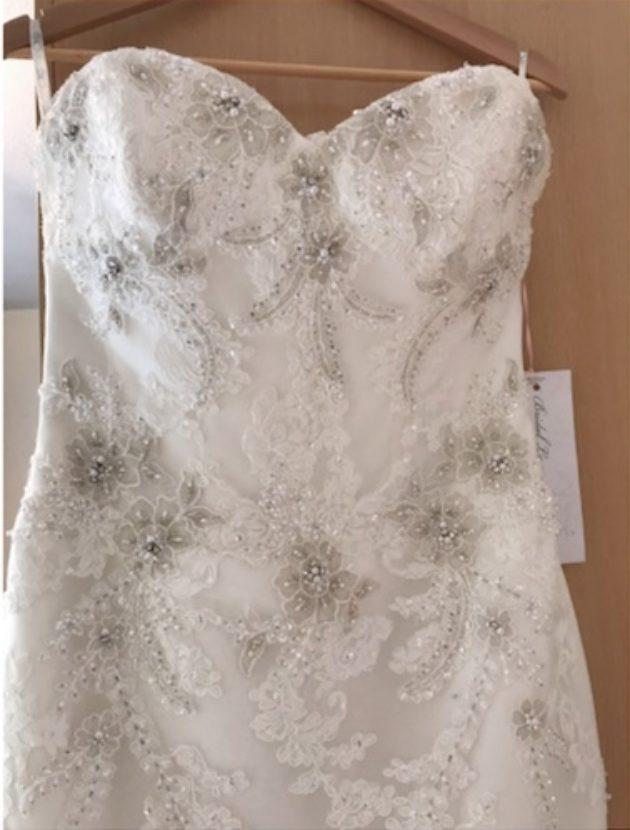 New BLUE BY ENZOANI HARROGATE Mermaid dress, UK size 12 / EU size 38