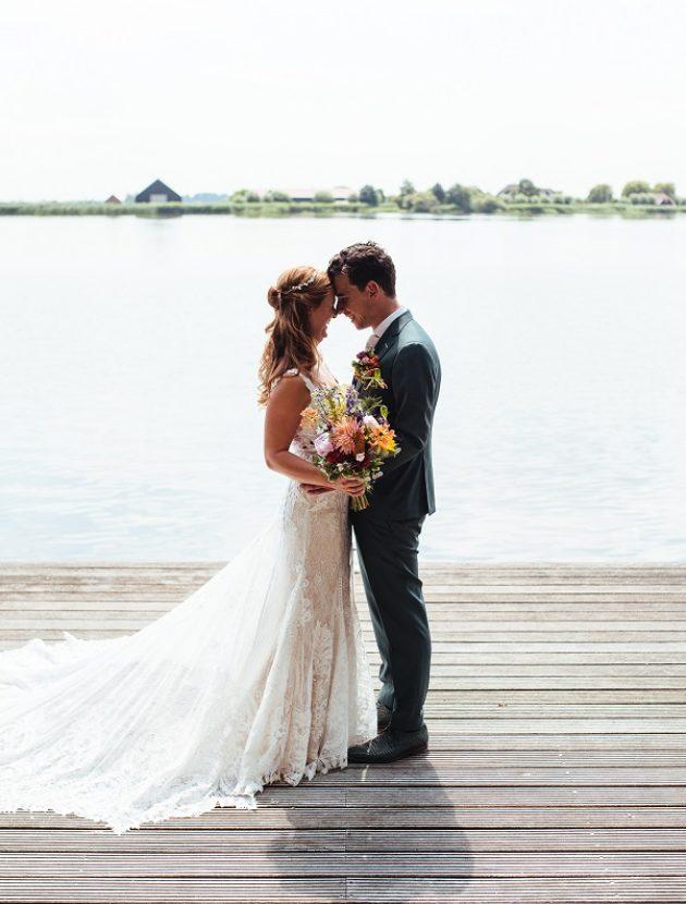 Prachtige trouwjurk van Martina Liana
