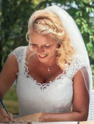 Prachtige trouwjurk maat 46