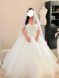 Prachtige trouwjurk van Morilee