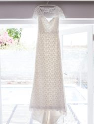Vintage daisy lace jurk