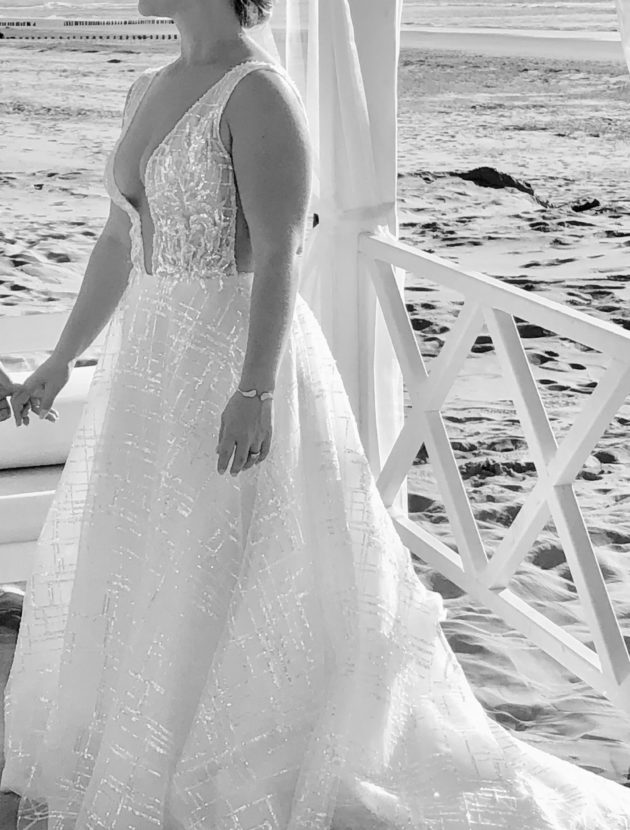 Bloomfeld design wedding dress