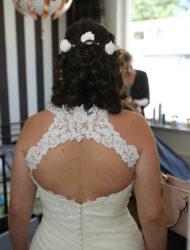 Prachtige bruidsjurk