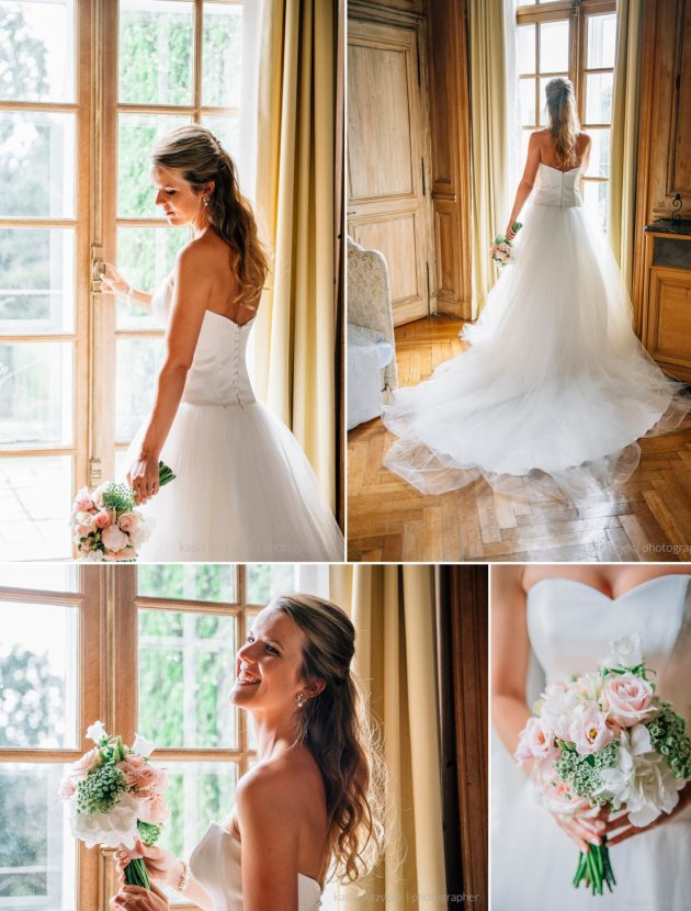 Dromerige sweetheart A-lijn prinses trouwjurk