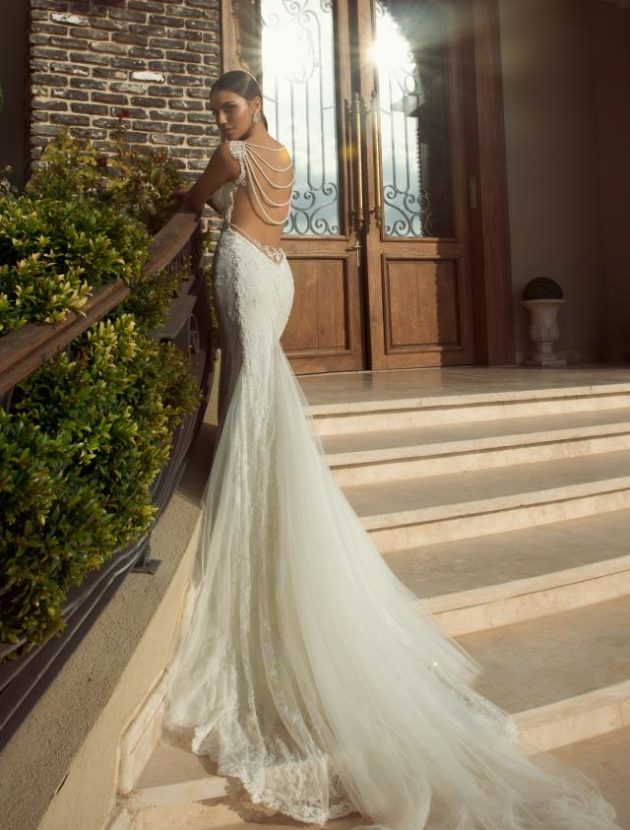 Galia Lahav (vintage collection) couture nooit gedragen!