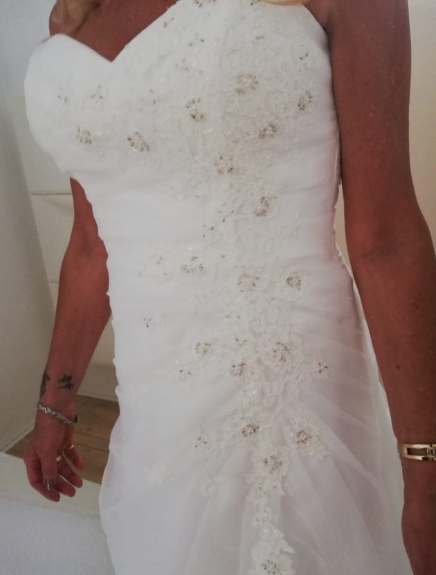 Nieuwe trouwjurk van het merk Amelie