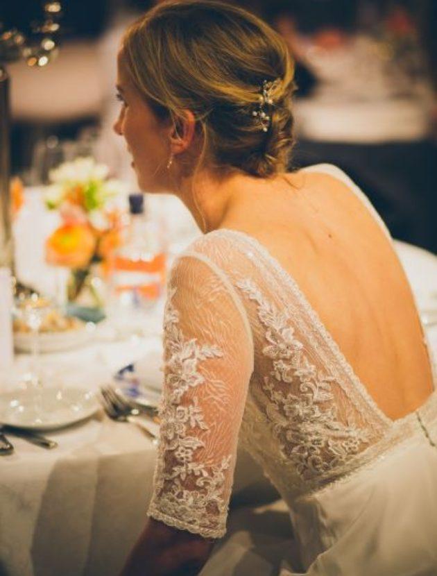 Prachtige, elegante trouwjurk