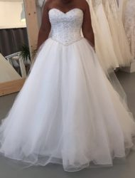 Mori lee trouwjurk – 5216