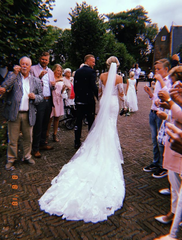 Beeldige Pronovias trouwjurk