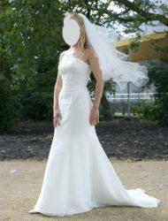 Schitterende trouwjurk van het merk Eternity bride