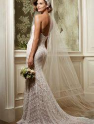Bohemian/boho trouwjurk van Watters (model Pippin)