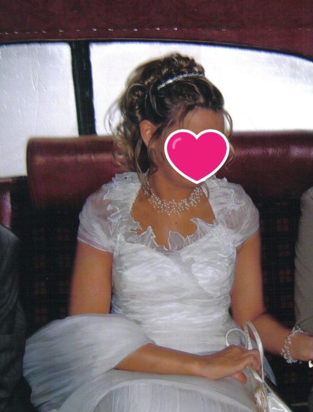 Romantische trouwjurk van Italiaanse makelij Linea Raffaelli